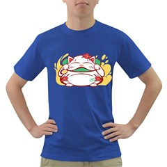 Lucky Cat Mens' T Shirt (colored)