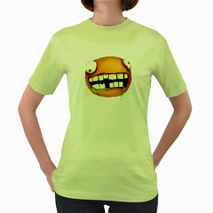 Hungry Womens  T Shirt (green)