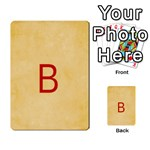 study card - Multi-purpose Cards (Rectangle)