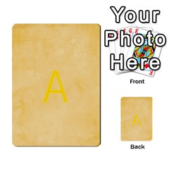 Study Card By Divad Brown   Multi Purpose Cards (rectangle)   Hhec2n4fk5am   Www Artscow Com Front 6