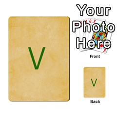 Study Card By Divad Brown   Multi Purpose Cards (rectangle)   Hhec2n4fk5am   Www Artscow Com Front 2