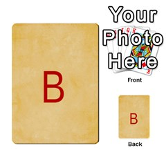 Study Card By Divad Brown   Multi Purpose Cards (rectangle)   Hhec2n4fk5am   Www Artscow Com Front 11