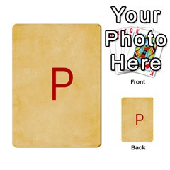 Study Card By Divad Brown   Multi Purpose Cards (rectangle)   Hhec2n4fk5am   Www Artscow Com Back 18