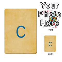 Study Card By Divad Brown   Multi Purpose Cards (rectangle)   Hhec2n4fk5am   Www Artscow Com Back 25