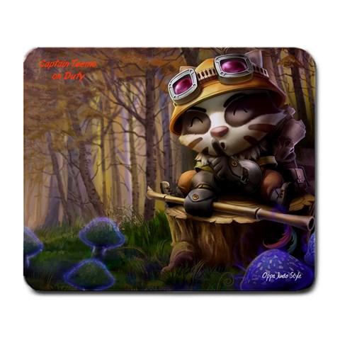 Teemoforjindo By Ryou Shiken   Large Mousepad   6hcjjds3o1be   Www Artscow Com Front