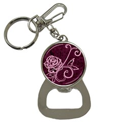 Rose Bottle Opener Key Chain