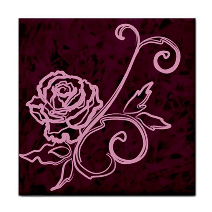 Rose Face Towel