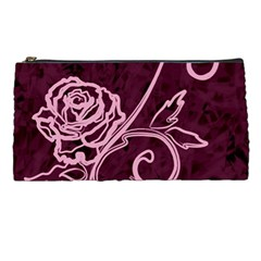 Rose Pencil Case by uniquedesignsbycassie