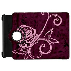 Rose Kindle Fire HD 7  Flip 360 Case by uniquedesignsbycassie