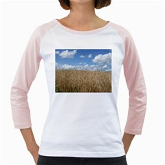 Gettysburg 1 068 Women s Long Cap Sleeve T Shirt (white)