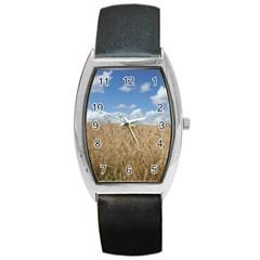 Gettysburg 1 068 Tonneau Leather Watch by plainandsimple