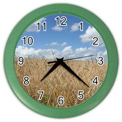 Gettysburg 1 068 Wall Clock (color) by plainandsimple