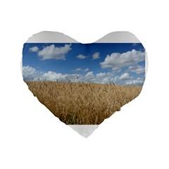 Gettysburg 1 068 16  Premium Heart Shape Cushion  by plainandsimple