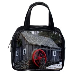 Vermont Christmas Barn Classic Handbag (one Side) by plainandsimple
