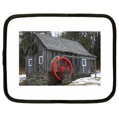 Vermont Christmas Barn Netbook Sleeve (xxl)