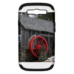 Vermont Christmas Barn Samsung Galaxy S Iii Hardshell Case (pc+silicone) by plainandsimple