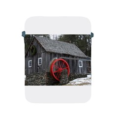 Vermont Christmas Barn Apple Ipad Protective Sleeve by plainandsimple