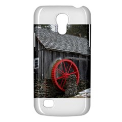 Vermont Christmas Barn Samsung Galaxy S4 Mini (gt I9190) Hardshell Case  by plainandsimple
