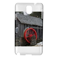 Vermont Christmas Barn Samsung Galaxy Note 3 N9005 Hardshell Case by plainandsimple