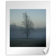 Foggy Tree Canvas 11  x 14  (Unframed) by plainandsimple