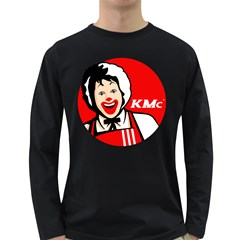 The Fast Food Republic Long Sleeve Dark T Shirt by doodlelabel