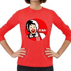 The Fast Food Republic Women s Long Sleeve Dark T Shirt by doodlelabel