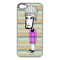 The Cheeky Buddies Apple Iphone 5 Case (silver) by doodlelabel