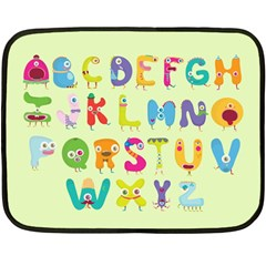 Abc Mini Fleece Blanket (single Sided) by Contest1771913