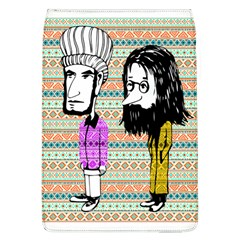 The Cheeky Buddies Removable Flap Cover (large) by doodlelabel