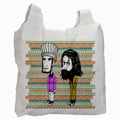 The Cheeky Buddies Recycle Bag (two Side) by doodlelabel