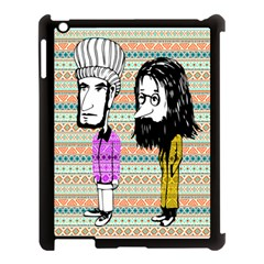 The Cheeky Buddies Apple Ipad 3/4 Case (black) by doodlelabel