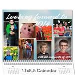 2014 Calendar - Wall Calendar 11  x 8.5  (12-Months)