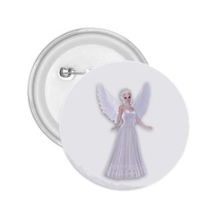 Beautiful Fairy Nymph Faerie Fairytale 2 25  Button by goldenjackal