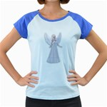 Beautiful fairy nymph faerie fairytale Women s Cap Sleeve T-Shirt (Colored)