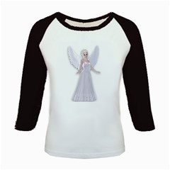 Beautiful Fairy Nymph Faerie Fairytale Kid s Long Cap Sleeve T Shirt by goldenjackal