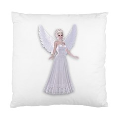 Beautiful Fairy Nymph Faerie Fairytale Cushion Case (two Sided)  by goldenjackal