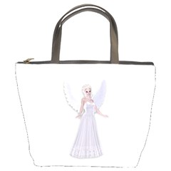 Beautiful Fairy Nymph Faerie Fairytale Bucket Handbag by goldenjackal