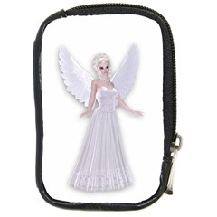 Beautiful Fairy Nymph Faerie Fairytale Compact Camera Leather Case