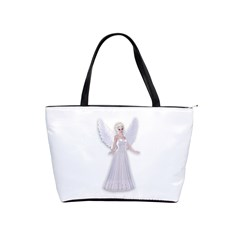 Beautiful Fairy Nymph Faerie Fairytale Large Shoulder Bag by goldenjackal