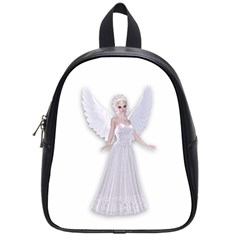 Beautiful Fairy Nymph Faerie Fairytale School Bag (small) by goldenjackal