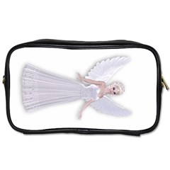 Beautiful Fairy Nymph Faerie Fairytale Travel Toiletry Bag (one Side) by goldenjackal