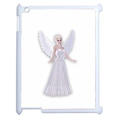 Beautiful Fairy Nymph Faerie Fairytale Apple Ipad 2 Case (white) by goldenjackal