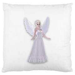 Beautiful Fairy Nymph Faerie Fairytale Large Cushion Case (single Sided)  by goldenjackal