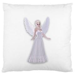 Beautiful Fairy Nymph Faerie Fairytale Large Cushion Case (single Sided)  by goldenjackal