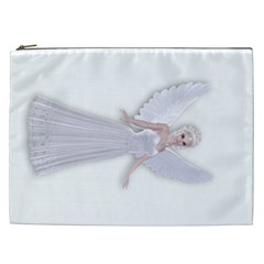 Beautiful Fairy Nymph Faerie Fairytale Cosmetic Bag (xxl) by goldenjackal
