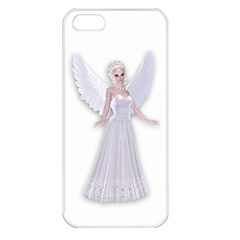 Beautiful Fairy Nymph Faerie Fairytale Apple Iphone 5 Seamless Case (white) by goldenjackal