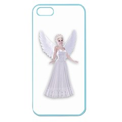 Beautiful Fairy Nymph Faerie Fairytale Apple Seamless Iphone 5 Case (color) by goldenjackal