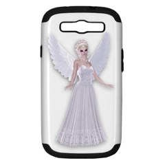 Beautiful Fairy Nymph Faerie Fairytale Samsung Galaxy S Iii Hardshell Case (pc+silicone) by goldenjackal