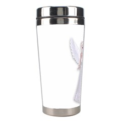 Beautiful Fairy Nymph Faerie Fairytale Stainless Steel Travel Tumbler by goldenjackal