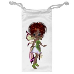 Fairy Magic Faerie In A Dress Jewelry Bag by goldenjackal